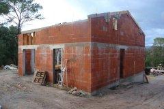 Construction d'une villa